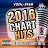 VOCAL-STAR 2016 KARAOKE CHART HITS 80 SONGS CDG CD+G 4 DISC SET - INC SONG BOOK