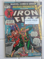 Marvel Premier 16, 2nd Appearance Iron Fist Comic Book VF