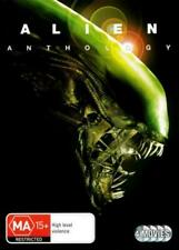 Alien 1 2 3 & 4 Anthology DVD Movies Collection R4 VGC T888