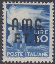 Italy Trieste A (AMG-FTT) - Democratica Sassone n.15 cv 540$ MNH**