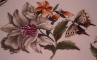 Antiq 18thC Meissen Porcelain Klinger Flowers Shadow Bugs Plate Porzellan Teller