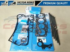 FOR VW 1.9 TDI 130BHP ASZ AVF AWX BLT VICTOR REINZ CYLINDER HEAD GASKET BOLT SET