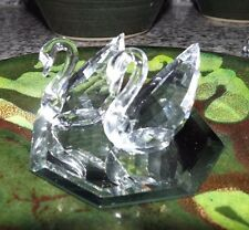 "One - Swarovski Crystal ""1995 Renewal Swan"" 1-1/2 inch. Mint Condition."