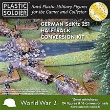15MM GERMAN SDKFZ 251/D HALFTRACK CONVERSION KIT - PLASTIC SOLDIER COMPANY WW2