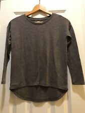 Old Navy Dark brown High Low Knit Shirt Size 8 youth