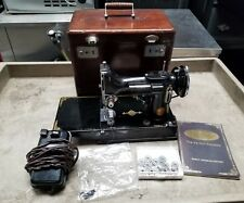 Singer Featherweight 221 the perfect portable sewing machine wooden case