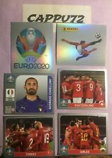 EURO 2020 PEARL EDITION TOURNAMENT GRUPPI A B MANCOLISTA STICKERS PANINI 2021
