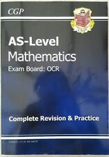 CGP OCR AS Level Maths Revision Guide: C1, C2, S1, M1, D1