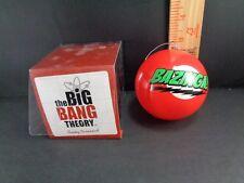 Big Bang Theory Christmas Tree  Ball Ornament Sheldon Cooper BAZINGA PENNY