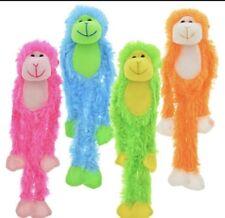 "19"" Plush Hanging Monkey STUFFED ANIMAL monkeys SOFT HANDS toy NEW gift"
