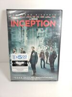Inception (DVD, 2010) - Leonardo DiCaprio - Christopher Nolan film - NEW