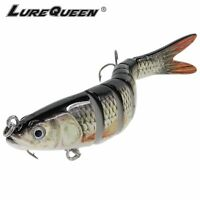 Fishing Bait Lures Bass Tackle Sinking Wobblers Jointed Crankbait Swimbait 14cm