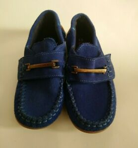 Next Boys Moccasins Royal Blue Loafers Shoes Uk 12 Comfort Casual Formal