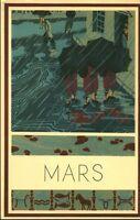 Publicité ancienne  pharmaceutique Mars 1952 Léon Ullmann - Paris