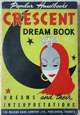 Old 1944 Popular Handbooks Crescent Dream Book Interpretations Softcover