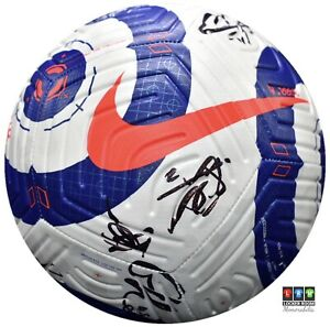 Leicester City Multi Signed Football (Photo Proof)