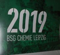 BSG Chemie Leipzig - Jahreskalender 2019 , ca. 30x40 cm - Neu,Lizenz