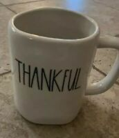 Rae Dunn Artisan Collection THANKFUL Mug Thanksgiving *FREE SHIPPING*
