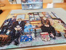 SUNSOUT 1000 PIECE PUZZLE---''THE CRITICS BY SUSAN BRABEAU''--20'' BY 27''.