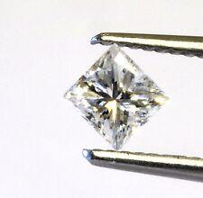 loose clarity enhanced princess cut .50ct SI2 H diamond vintage estate antique