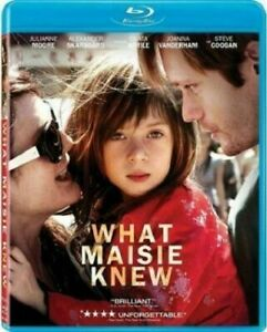 What Maisie Knew Authentic Blu Ray Disc Julianne Moore Film New Factory Sealed