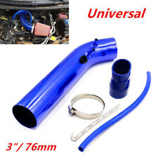 "Racing Car 3"" 76mm Cold Air Intake Aluminum Pipe Air Filter Pipe Kit Universal"