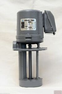 "1/8 HP Cast Iron Immersion Coolant Pump, 110/220V, 1PH, Shaft Length 5"" (130mm)"