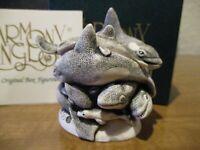 Harmony Kingdom Whale Of A Time 2nd Ed Whales UK Made Box Figurine SGN