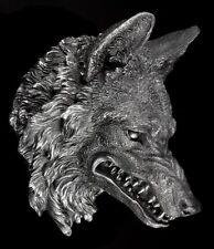 Wolfskopf - The Wild Beast - Fantasy Werwolf Deko Wand