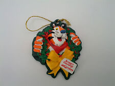 Kellogg cereal 1999 Tony the tiger season' greetings Christmas tree ornament