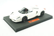 1/18 BBR FERRARI ENZO AVUS WHITE DELUXE BLACK DELUXE LEATHER LIMTED 20 PIECES MR
