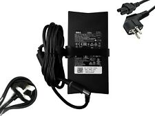 DELL PA-4E PA-13 130W VJCH5 JU012 Laptop charger AC Adapter UK or EU mains lead