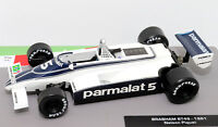Formula 1 Car Collection Brabham BT49 1981 Nelson Piquet 1:43 F1 Model Mint