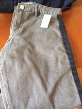 Gap KIDS  Girls Legging Jeans Size 14 Plus Gray Faded Wash  NWT