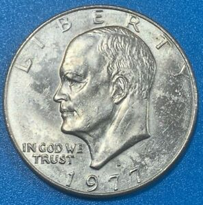 "1977D United States Dollar ""Eisenhower Dollar"" Coin"