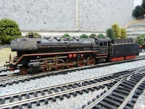 Marklin 2-10-0 steam loco for 3 rail HO gauge model train set