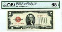 $2 1928 G LEGAL TENDER NOTE F 1508 GEM UNC LUCKY MONEY VALUE $750