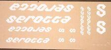 Genuine NOS Serotta 3M Vinyl White Bike Frame Decals OEM Complete Titanium Set
