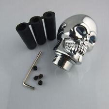 Universal Car Blue LED Skull Head Manual Gear Stick  Lever Shifter Shift Knob