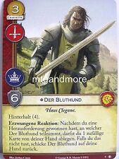 A Game of Thrones 2.0 LCG - 1x Der Bluthund #009 - Das Schwarz anlegen - Second