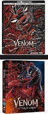 Marvel Venom:Let There Be Carnage 4K UHD Bluray Steelbook / Exc.Slipcase Presale