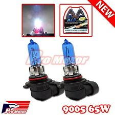 2x 9005 12v 65w 5000K Light Bulb White High Beam DRL Halogen Headlight Gas Xenon