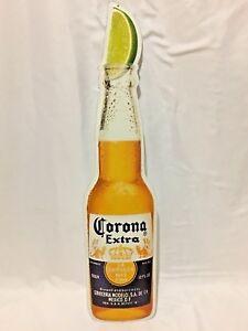 Corona Extra Tin Metal Beer Sign.