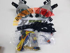 Genuine OEM Fog Lamp Light & MF Switch & Harness Set For 2014~2018 Kia Soul EV