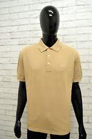 Polo GIANFRANCO FERRE Uomo Taglia XL Maglia Maglietta Camicia Shirt Cotone Beige