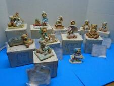 CHERISHED TEDDIES Lot of 13 Figurines in Boxes 1990's Mary Connie Anna Amy More