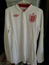 New Authentic Umbro 2012 2014 England  L/S Jersey Beckham Rooney Gerrard era 40