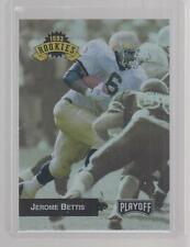 1993 JEROME BETTIS PLAYOFF ROOKIES ROOKIE CARD # 294 NOTRE DAME