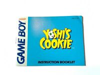 Yoshi's Cookie ORIGINAL NINTENDO GAMEBOY INSTRUCTION MANUAL BOOKLET BOOK