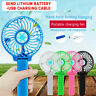 Portable Mini Fan Handheld Cooler USB Rechargeable For Travel Home and Office